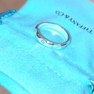 Tiffany & Co. - [美品 ティファニー] スターリングシルバー ダイヤモンドリング #15