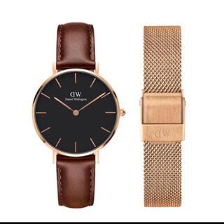ダニエルウェリントン(Daniel Wellington)の【32㎜】ダニエル ウェリントン腕時計DW169+ベルトSET〈3年保証付〉(腕時計)