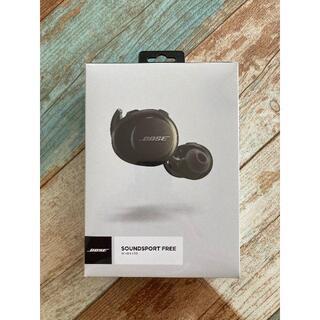 ボーズ(BOSE)の新品未使用SOUNDSPORT FREE WIRELESS HEADPHONES(ヘッドフォン/イヤフォン)