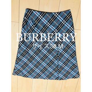 バーバリーブルーレーベル(BURBERRY BLUE LABEL)のBURBERRY BLUE LABEL ノバチェックスカート 38(ひざ丈スカート)