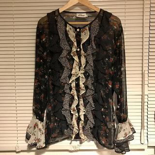 Lochie - itimi vintage flower blouse