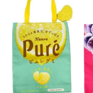 ユーハミカクトウ(UHA味覚糖)のピュレグミ トートバッグ(トートバッグ)