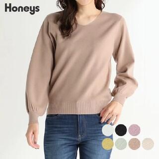 HONEYS - 今期♡Vネックニット