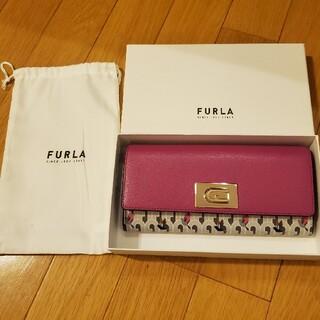 Furla - 【新作・正規品】FURLA 1927 ハチドリ ピンク×グレー 長財布