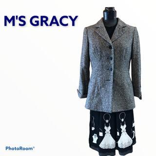 エムズグレイシー(M'S GRACY)のエムズグレーシー ジャケット(テーラードジャケット)