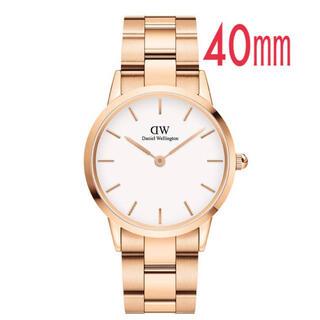 ダニエルウェリントン(Daniel Wellington)の新作【40mm】ダニエル ウェリントン腕時計DW00100343《3年保証付》(腕時計)