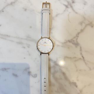ダニエルウェリントン(Daniel Wellington)のダニエルウェリントン時計レディース白(腕時計)