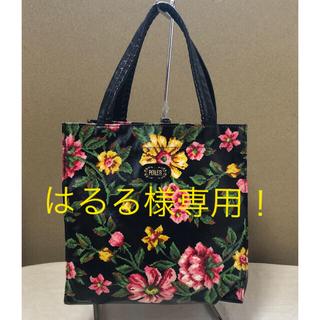 FEILER - フェイラー☆コーティング地花柄ミニトートバッグ 送料無料!