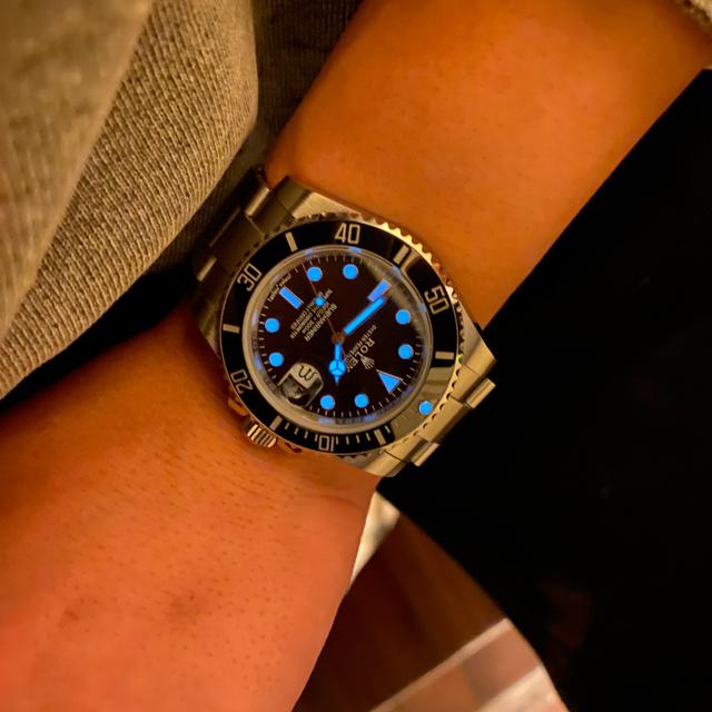 ROLEX(ロレックス)のサブマリーナ カスタム品 社外品 メンズの時計(腕時計(アナログ))の商品写真