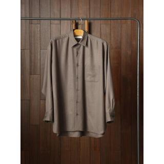 マーカウェア(MARKAWEAR)のMARKAWARE WOOL VIYELLA COMFORT FIT SHIRT(シャツ)