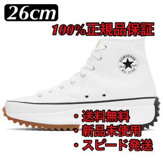 CONVERSE - 【新品】CONVERSE RUN STAR HIKE WHITE 26cm