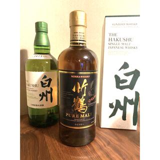 サントリー - 白州 竹鶴 フルトボトル 3本