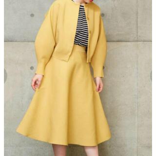 Dot&Stripes CHILD WOMAN アモッサミラノ セットアップ黄色