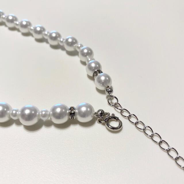 KAPITAL(キャピタル)のpearl beads necklace パールビーズネックレス メンズのアクセサリー(ネックレス)の商品写真