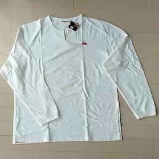 クイックシルバー(QUIKSILVER)のタイムセール!新品!未使用!クイックシルバーロングスリーブビッグ長袖T-シャツ(Tシャツ/カットソー(七分/長袖))