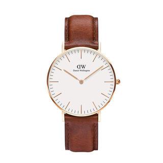 ダニエルウェリントン(Daniel Wellington)の【36㎜】ダニエル ウェリントン腕時計DW035《3年保証書付》 (腕時計)