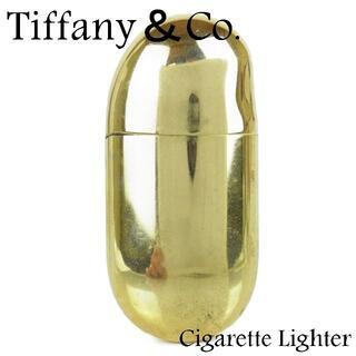 ティファニー(Tiffany & Co.)のティファニー エルサ ペレッティ ビーン オイル ライター 喫煙具 ゴールド(その他)