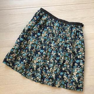 ロペ(ROPE)のROPE 花柄スカート(ひざ丈スカート)