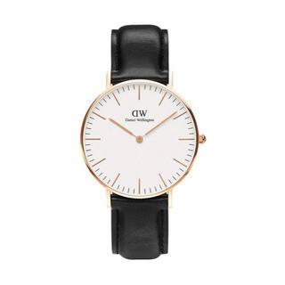 ダニエルウェリントン(Daniel Wellington)の【36㎜】ダニエルウエリントン腕時計DW036 〈3年保証付〉(腕時計)