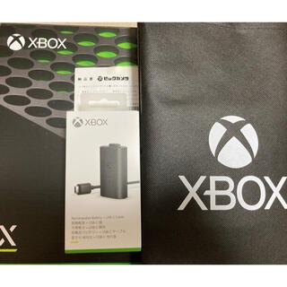 Xbox - xbox series x 本体と 充電式バッテリー + USB-C ケーブル