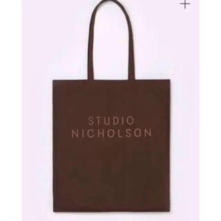 1LDK SELECT - STUDIO NICHOLSON スタジオニコルソン トートバッグ