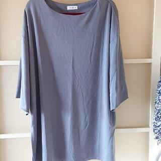 綺麗なブルーの服 3L(カットソー(長袖/七分))
