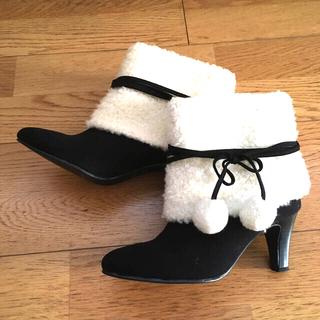 エスペランサ(ESPERANZA)のエスペランサ スエード ショートブーツ Sサイズ(ブーツ)