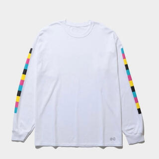 ピースマイナスワン(PEACEMINUSONE)のpeaceminusone the conveni l/s tee white (Tシャツ/カットソー(七分/長袖))