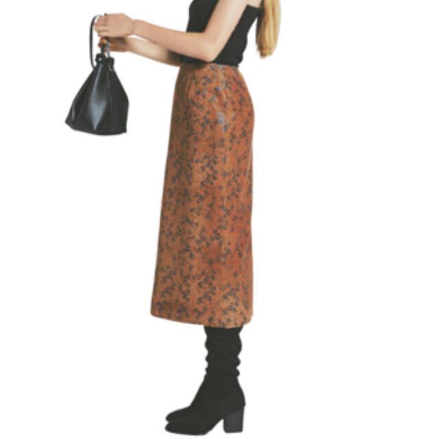 Ron Herman(ロンハーマン)のbluebirdboulevard × ronherman スウェード スカート レディースのスカート(ロングスカート)の商品写真