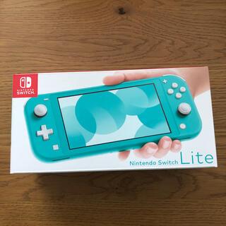 ニンテンドースイッチ(Nintendo Switch)の谷川様専用Nintendo Switch  Lite ターコイズ(家庭用ゲーム機本体)