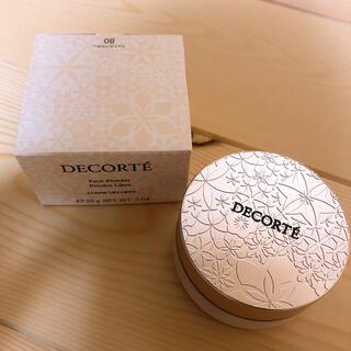COSME DECORTE - フェイスパウダー 80 grow pink