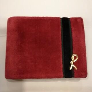 ROBERTA DI CAMERINO - ロベルタ  赤ベロア財布