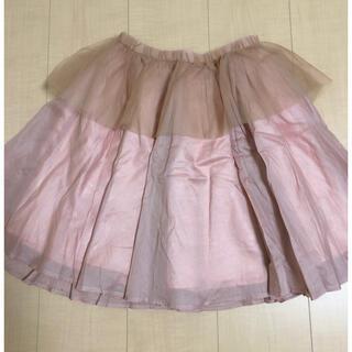 ハニーミーハニー(Honey mi Honey)のhoney mi honey☆チュールスカート☆(ひざ丈スカート)
