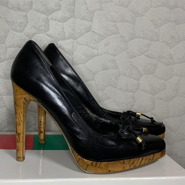 NINE WEST(ナインウエスト)のNINE WEST ナインウエスト パンプス 黒 レディースの靴/シューズ(ハイヒール/パンプス)の商品写真