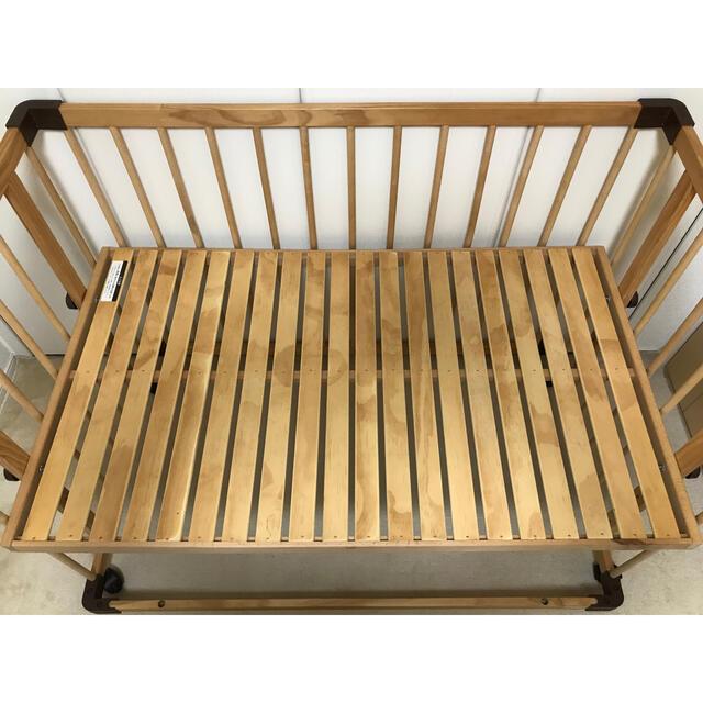 *melanoleuca様専用* ファルスカ ベッドサイドベッド03 キッズ/ベビー/マタニティの寝具/家具(ベビーベッド)の商品写真