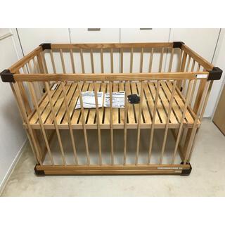 ファルスカ ベッドサイドベッド03 ベッドガード付き
