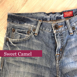 スウィートキャメル(SweetCamel)のSweet Camel デニム ジーンズ ストレート ウエスト63cm(デニム/ジーンズ)