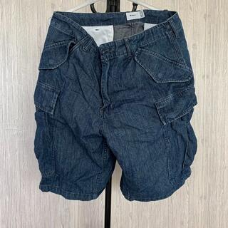 ダブルタップス(W)taps)のwtaps 18ss denim cargo shorts 中古(ショートパンツ)