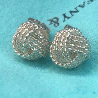 Tiffany & Co. - 本日限定セール!ティファニー メッシュピアス