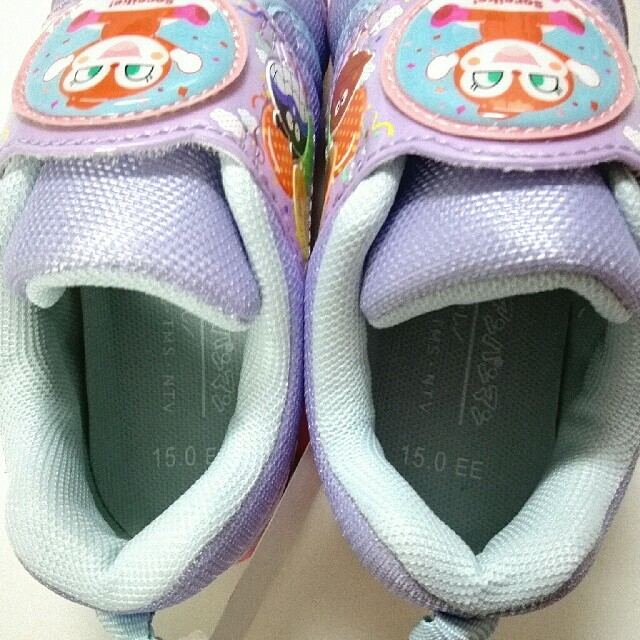 MOONSTAR (ムーンスター)の新品タグつき★アンパンマン★ドキンちゃん★スニーカー★ムーンスター★15㎝ キッズ/ベビー/マタニティのキッズ靴/シューズ(15cm~)(スニーカー)の商品写真