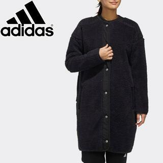 adidas - 新品 adidas アディダス レディース S2S ボア ロングコート 黒