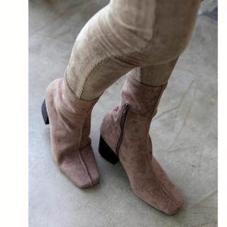 ルームサンマルロクコンテンポラリー(room306 CONTEMPORARY)のroom306 スエードブーツ(ブーツ)