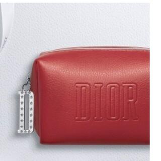 Dior - ディオール ノベルティ ポーチ 赤