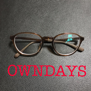 OWNDAYS ブルーライトカット メンズ ユニセックス 眼鏡 メガネ