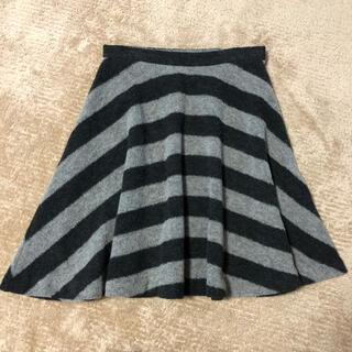 コムサデモード(COMME CA DU MODE)のコムサデモード ウールスカート 9号(ひざ丈スカート)