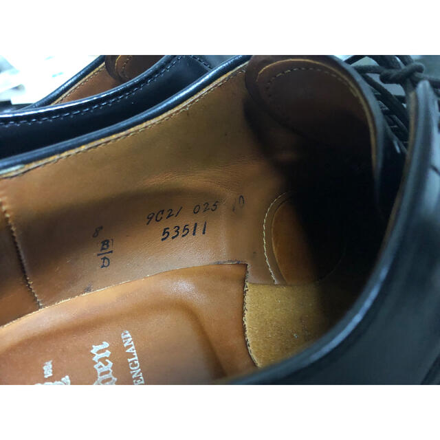 Alden(オールデン)の【最終値下】Alden modifyed last 8D コードバン  メンズの靴/シューズ(ドレス/ビジネス)の商品写真
