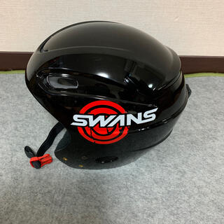 スワンズ(SWANS)のSWANS スワンズ ヘルメット ジュニア 美品(その他)