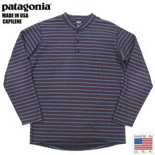 patagonia - アメリカ製 パタゴニア 00's キャプリーン ヘンリー フリース S表記