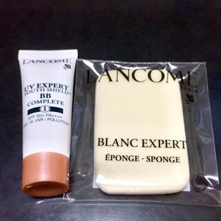 ランコム(LANCOME)のLANCOME ランコム UVエクスペールBB n サンプル10ml+スポンジ(BBクリーム)