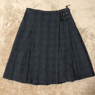 コムサデモード(COMME CA DU MODE)のコムサデモード K.T ウールスカート 9号(ひざ丈スカート)